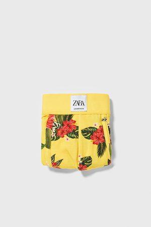 Zara Hombre Calzoncillos y Boxers - Bóxer estampado floral