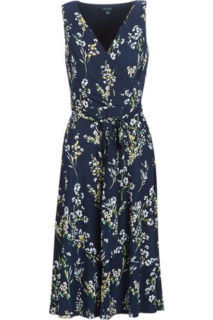 LAUREN RALPH LAUREN Vestido largo FLORAL PRINT-SLEEVELESS-DAY DRESS para mujer