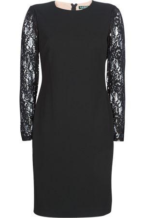 Ralph Lauren Vestido LACE PANEL JERSEY DRESS para mujer