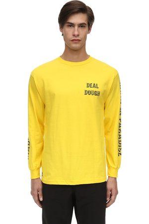 MADE IN PARADISE | Hombre Camiseta De Algodón Con Mangas Largas S