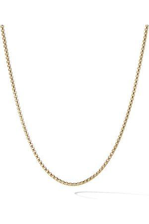David Yurman Collar Box de cadena en oro amarillo de 18kt