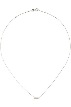Dana Rebecca Designs Collar Sylvie Rose en oro blanco de 14kt con diamantes