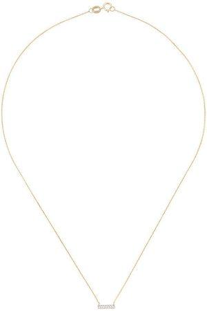 Dana Rebecca Designs Mujer Collares - Collar Sylvie Rose en oro de 14kt con diamantes