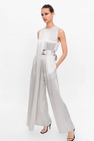Zara Mujer Monos largos - Mono largo cinturón edición limitada
