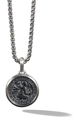 David Yurman Collar con colgante St Christopher Amulet