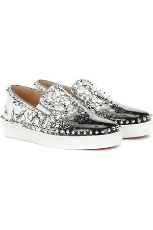 Christian Louboutin Exclusivo en Mytheresa - zapatillas Pik Boat Woman de piel