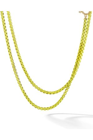 David Yurman Collar de cadena DY Bel Aire en oro amarillo de 14kt