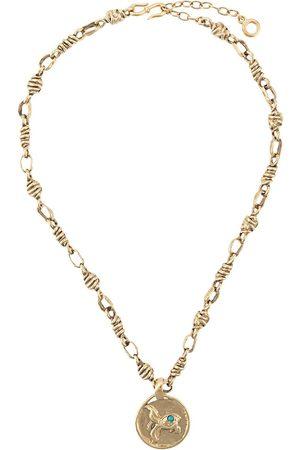 Goossens Collar con detalle de medallón con motivo de pez