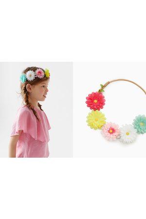 Zara Accesorios del pelo - Diadema elástica flores