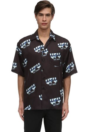 UFU - USED FUTURE | Hombre Camisa De Techno Estampado M
