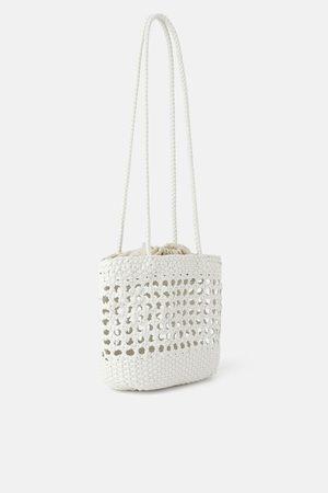 Zara Mujer Bolsos shopper y tote - Bolso shopper trenzado