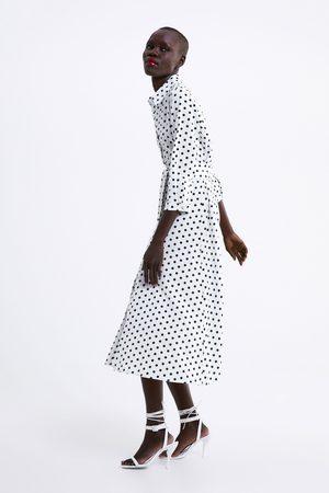venta más barata estilo de moda de 2019 reunirse Vestido largo lunares