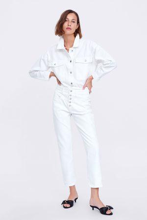 Zara Mujer Rectos - Jeans zw premium 80's straight