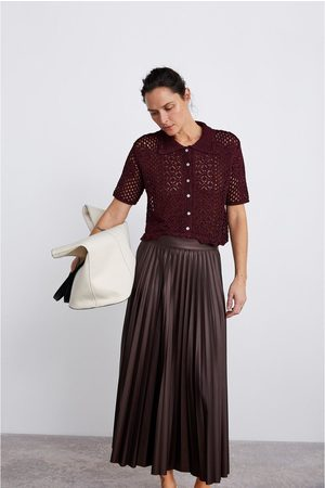 Zara Mujer Polos - Polo crochet