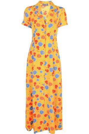 LHD Vestido largo con estampado floral