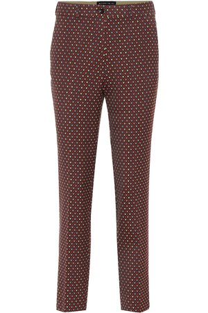 Etro Pantalones de jacquard