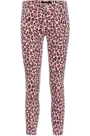 J Brand Jeans 835 skinny cropped tiro medio