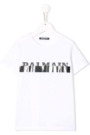 Balmain Camiseta con logo