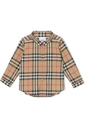 Burberry Camisa a cuadros vintage