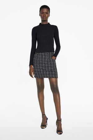Zara Falda mini tweed