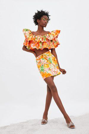 Zara Falda estampada edición limitada