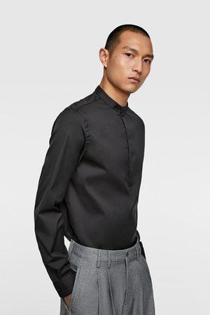 d8ed0e5b1 Camisa cuello mao