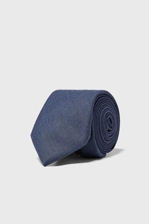 Zara Hombre Corbatas y corbatín - Corbata ancha lunares
