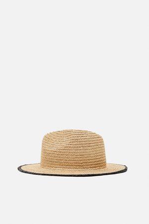 Zara Mujer Sombreros - Sombrero combinado