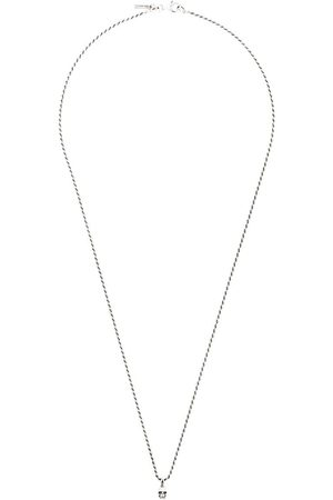 EMANUELE BICOCCHI Collares - Collar de cadena con detalle de calavera
