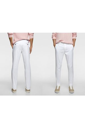 Zara Pantalón chino slim fit