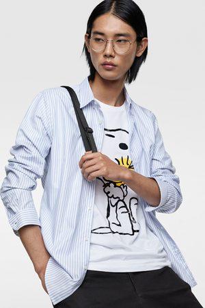 Zara Camisa oxford rayas