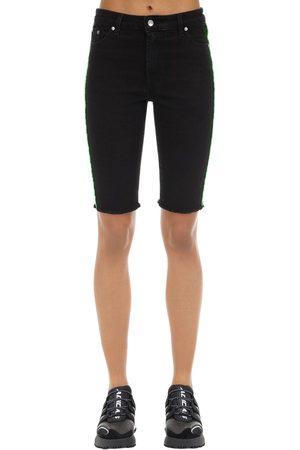 Represent | Mujer Shorts De Denim De Algodón 25