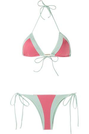Brigitte Bikini con diseño de dos tonos