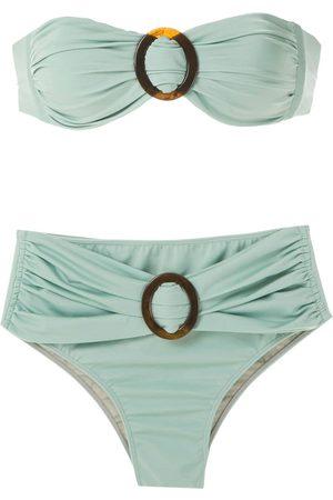 Brigitte Bikini con detalles de hebillas