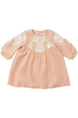Chloé Chloé | Niña Vestido De Seda Decorado 8a