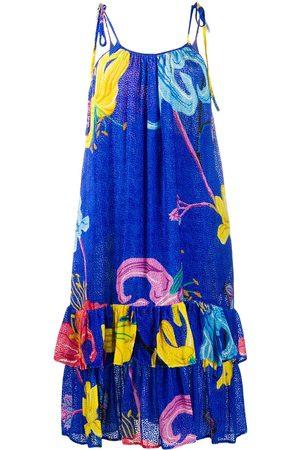 La DoubleJ Vestido con tirantes finos y motivo floral