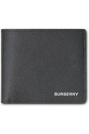 Burberry Monedero International de cuero granulado