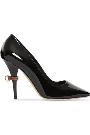 Burberry Zapatos de tacón con anilla en D y puntera cuadrada