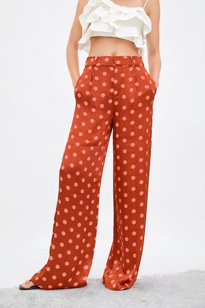 bc31d0e177 Pantalones Anchos de mujer Zara baratos ¡Compara 68 productos y compra  ahora al mejor precio!