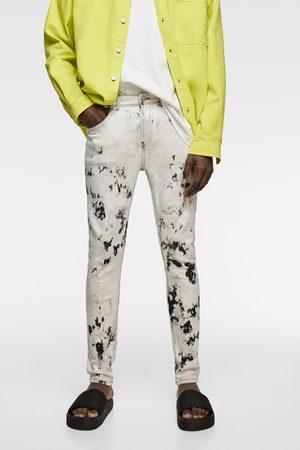 Zara Jeans skinny tie dye