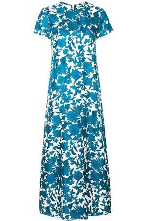 La DoubleJ Vestido largo con estampado floral
