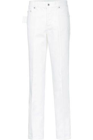 Bottega Veneta Jeans rectos de tiro alto