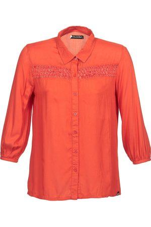 Volcom Camisa manga larga KNOTTY para mujer