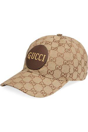 Gucci Gorra de béisbol de lona GG