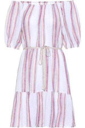 Velvet Vestido Cinthia en mezcla de lino