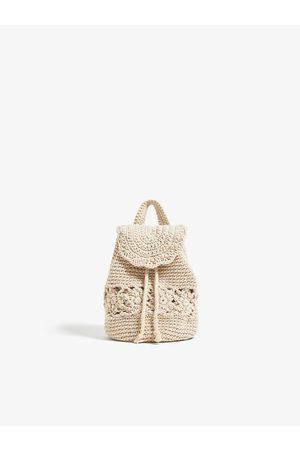 Zara Mochila crochet