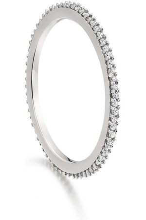 Monica Vinader Anillo Eternity con diamantes