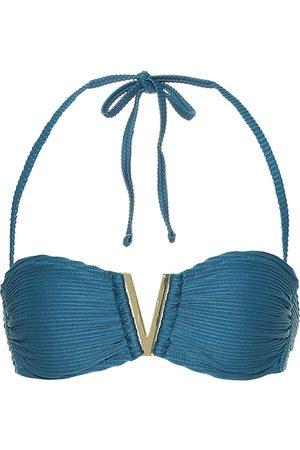 Heidi Klein Top de bikini con cuello halter Ubud