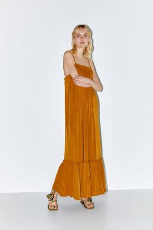 Zara Mujer Largos - Vestido largo estructura