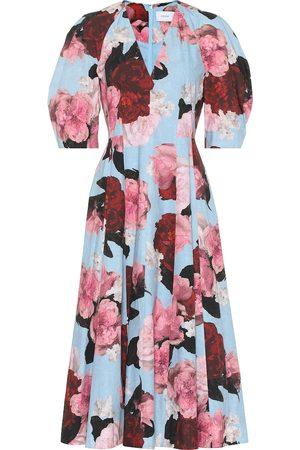 Erdem Exclusivo en Mytheresa - Vestido Cressida de popelín floral